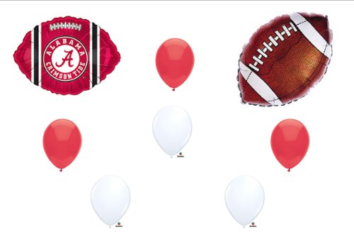 University of Alabama Crimson Tide Football Birthday Party Balloons Decorations Supplies