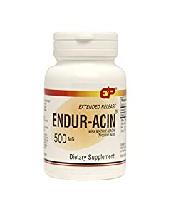 Endur-Acin 500 mg Low-Flushing Extended Release Niacin, 500 Tabs