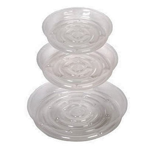 (Plastic Round Plant Pot Saucers Decorative Flower Garden Planter Holder Tray Stands 13 Pack For Table Floor Home Living Room Deck Patio Lawn Garden Outdoor Indoor Decor 3 of 10