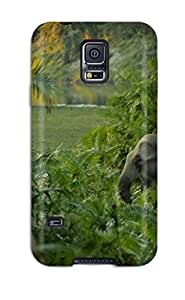 John B Coles's Shop New Style 42L0WO4BMWV95SWD Tpu Phone Case With Fashionable Look For Galaxy S5 - Elephant