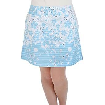Adidas ClimaCool Womens Floral Skort 10 White/Air