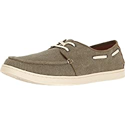 Toms - Culver Lace-up (olive Washed Canvas) Men's Lace Up Casual Shoes (11)