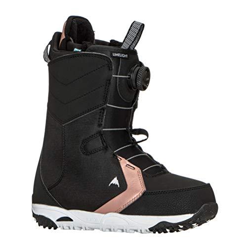 Burton Limelight BOA Snowboard Boots Black Womens Sz 7