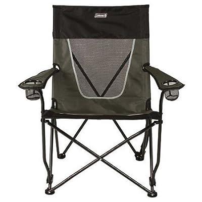 Coleman Ultimate Comfort Sling Chair, Gray Beach Pool Outdoor Summer: Garden & Outdoor