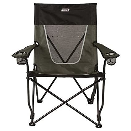 Amazon.com: Coleman Ultimate Comfort Sling Silla, Gris Playa ...