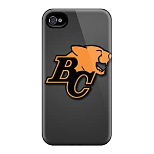 Iphone 4/4s KwA10891HcIZ Unique Design Fashion Bc Lions Series Shockproof Hard Phone Covers -ColtonMorrill