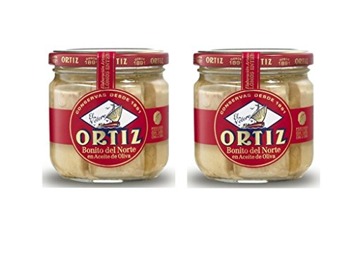 Ortiz, Tuna White In Olive Oil, 7.76 Ounce