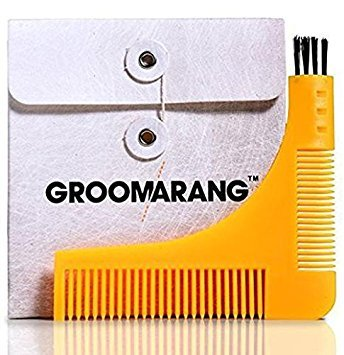 Groomarang Beard Styling and Shaping Template Comb Tool GROOM1