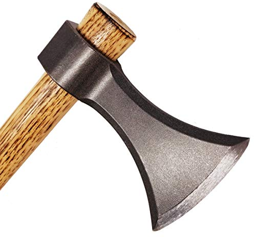 Bladed Throwing Axe - USA Made Throwing Tomahawk Blade - One or Two Hand Axe to Throw (Natural Steel) by Bladed (Image #7)