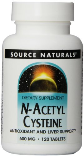 Source Naturals N-Acetyl Cysteine 600mg, 120 Tablets
