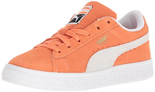 PUMA Baby Suede Classic Kids Sneaker, Melon