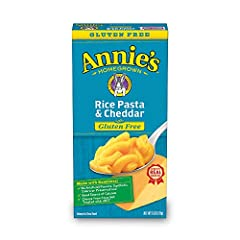 Annie's Gluten Free Rice Pasta & Cheddar Macaroni & Cheese 6 oz. Box (Pack of 12)