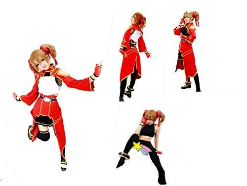 [Sword Art Online Silica Keiko Ayano cosplay costume] (Silica Cosplay Costume)