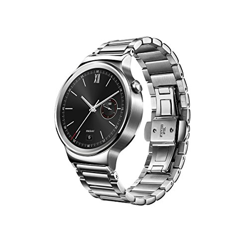 Huawei Watch Stainless Steel with Stainless Steel Link Band (U.S. Warranty) by Huawei (Image #1)