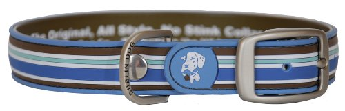 All Style 17-Inch by 21-1/2-Inch No Stink Dog Collar, Large, Tahitian Sky