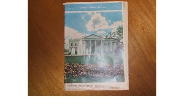chicago sunday tribune magazine may 18 1952 the renovated white rh amazon com