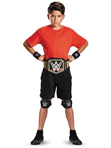 Disguise WWE Championship Belt Child Costume (Wwe Childrens Halloween Costumes)