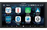 Alpine iLX-W650 7'' Mech-Less Receiver Compatible with Apple CarPlay and Android Auto