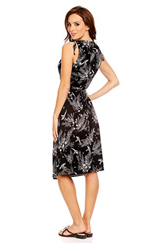 Mia Suri - Vestido - para mujer Black Bird Print