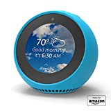"""""""Made for Amazon"""" Mission Cables Skin for Echo Spot - Bahama Blue"""