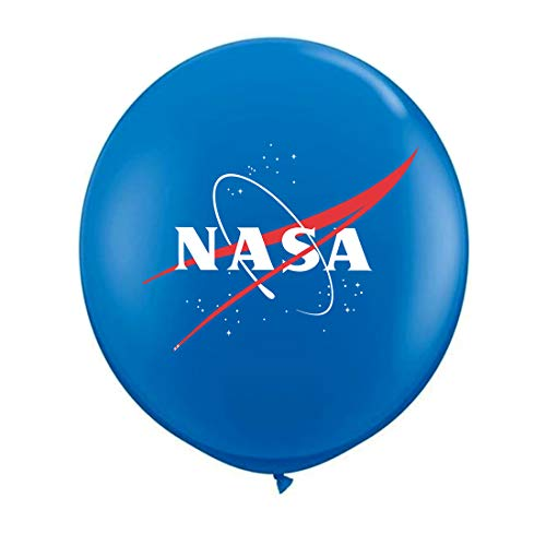Suntunk - NASA Helium Balloons,Birthday Party Toys and Space Party Theme Decorations Latex Balloons(25 Pcs)