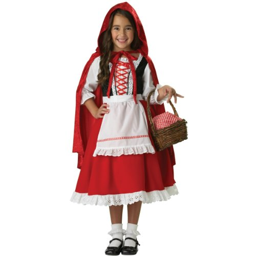 InCharacter Girls Little Red Riding Hood Costume, Medium