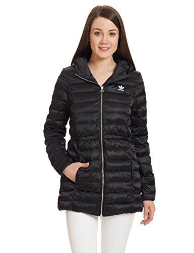 Abrigo Coat Negro Slim negro Mujer Adidas 4E6fwqx