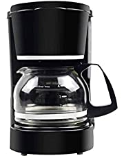 Joochoo Coffee Maker, Small-size Home-appliance Drip Coffee machine, 5-Cups Coffee Service, Suitable for Family Coffee Bar or Office Coffee Services, Tea maker, One Button switch Easy use & clean, Keep Warm Function.