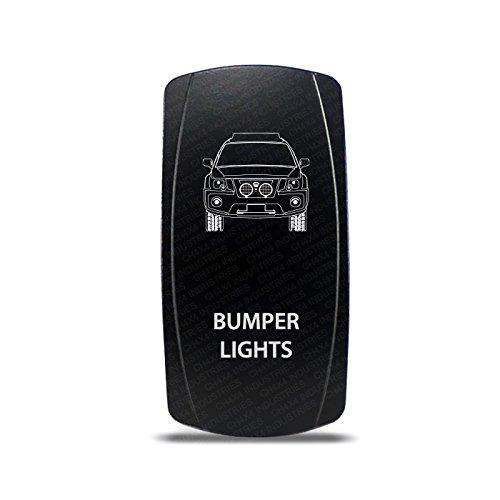 CH4X4 Rocker Switch for Nissan Xterra 2nd Gen Bumper Lights Symbol- Amber Led (Switch Symbol)