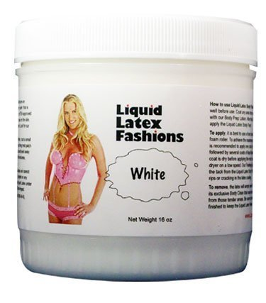 Ammonia Free Liquid Latex Body Paint - 32oz White by Liquid Latex Fashions