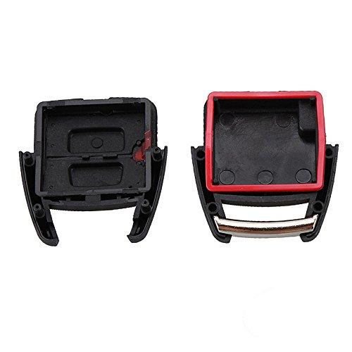 Modelos en el interior DON LLAVE/® AMDLOP09 Carcasa para llave de 2 botones