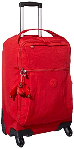 Kipling Unisex Darcey Small Carry-On Rolling Luggage, Cherry Tonal ()