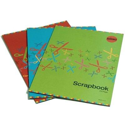 RHINO 24 Page Scrap Book