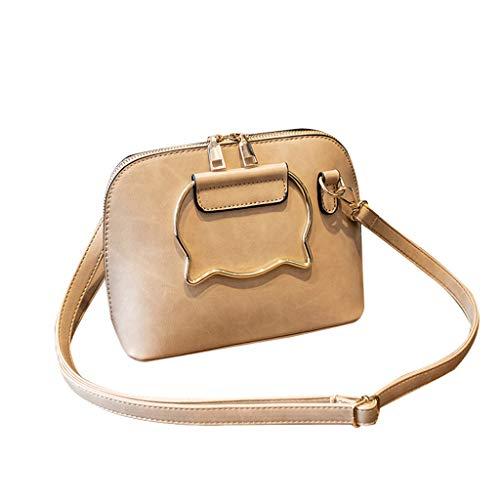 Leather Crossbody Purses and Handbags for Women-Crossover Bag Shoulder-Laptop Bag Casual Work Business Handbag Hot New ()