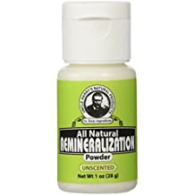 Uncle Harry's Natural Unscented Remineralization Tooth Powder (1 oz)