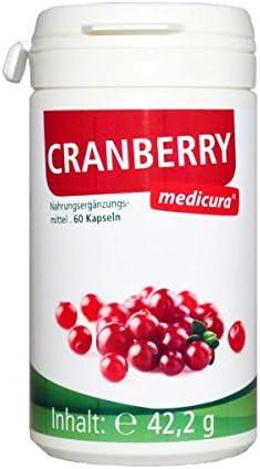 Medicura Cranberry 60 Kapseln - 42.2 g
