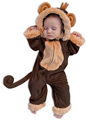 Princess Paradise Milo the Monkey Costume, 0 to 3 Months
