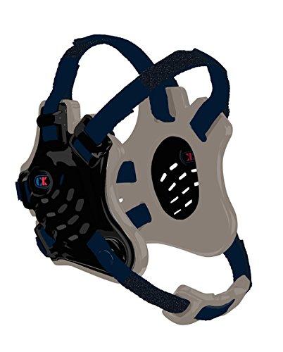Cliff Keen Custom Tornado Headgear - Black/Silver/Navy