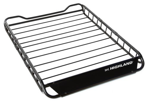 Highland 1041900 U-Venture Steel Rooftop Cargo Basket (Roof Basket Rack)