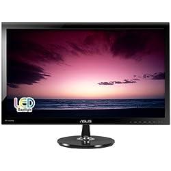 "ASUS VS278Q-P 27"" Full HD 1920x1080 1ms DisplayPort HDMI VGA Monitor"