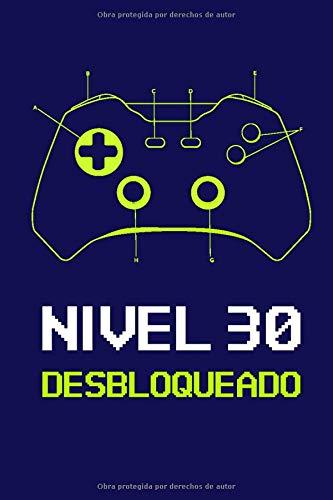 Nivel 30 Desbloqueado: Regalo de Cumpleaños 30 Años Para ...