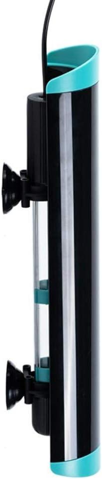 Aquarium Intelligent Timing UVC Lamp Submersible UV Sterilizer Fish Tank Pond Water Disinfection Bactericide Treatment Purifier 5W