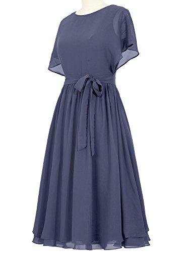 Preferhouse Mother of The Bride Dress Plus Size Tea Length Wedding Guest  Dress