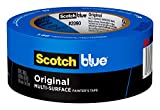 ScotchBlue Original Multi-Surface Painter's Tape,  1.88 inch x 60 yard, 1 Roll - 2090-48E: more info