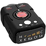 Radar Detectors for Cars, 360 Degree Detection with Voice Alert, Performance City/Highway Mode Police Radar Detector Review