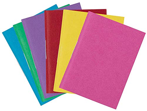 - Miniature Blank-Book- 24-Pack Mini Colorful Blank Books, Unlined Plain Inner Pages for Creative Kids Projects, Toys and Games, Stapled Binding, 6 Assorted Colors, 2.2 x 1.55 Inches, 32 Sheets