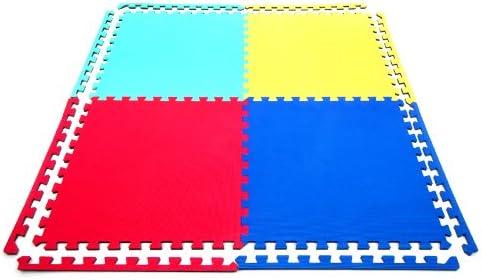 20 x Suelo Para Ninos Y Infantiles EVA Puzzle Colchonetas 60cm x 60cm x12mm