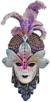 Design Toscano The Venetian Masquerades Sculptural Wall Masks Maiden del Cortina
