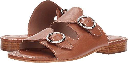 Bernardo Women's TOBI Flat Sandal, Luggage Glove Leather, 7M M US