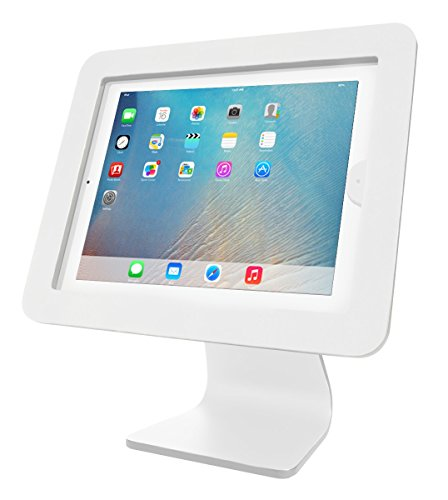 Maclocks AIO-W All-in-One 360 Rotating iPad Security Enclosure Kiosk Stand - Enclosure Kit Lock
